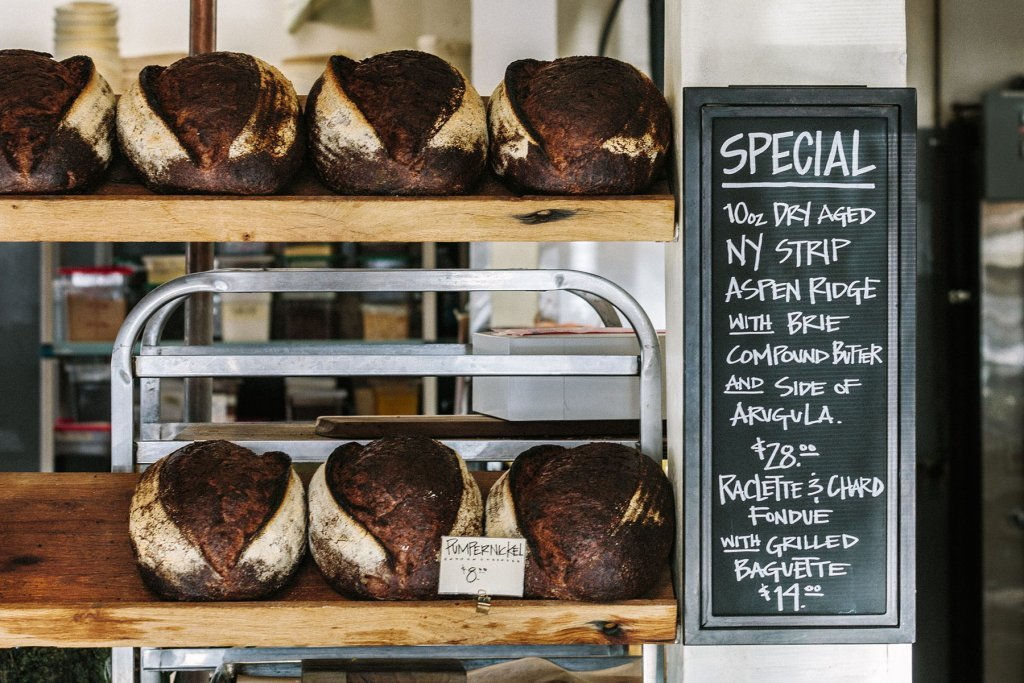 Bakery special offer bread