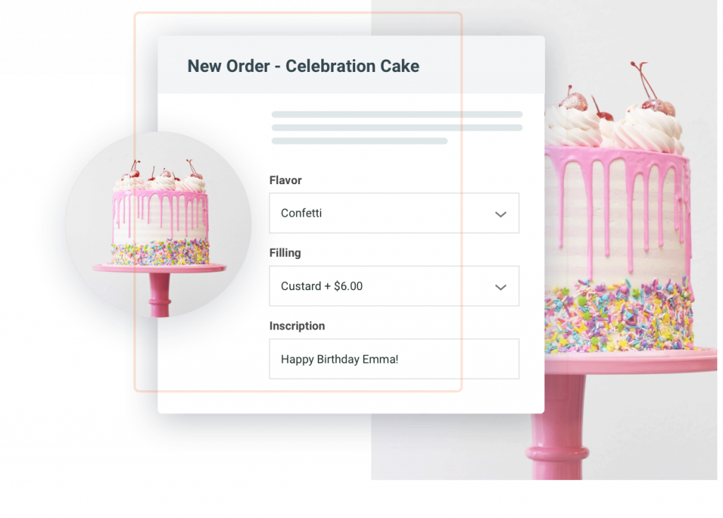 Preview of Online Orderform