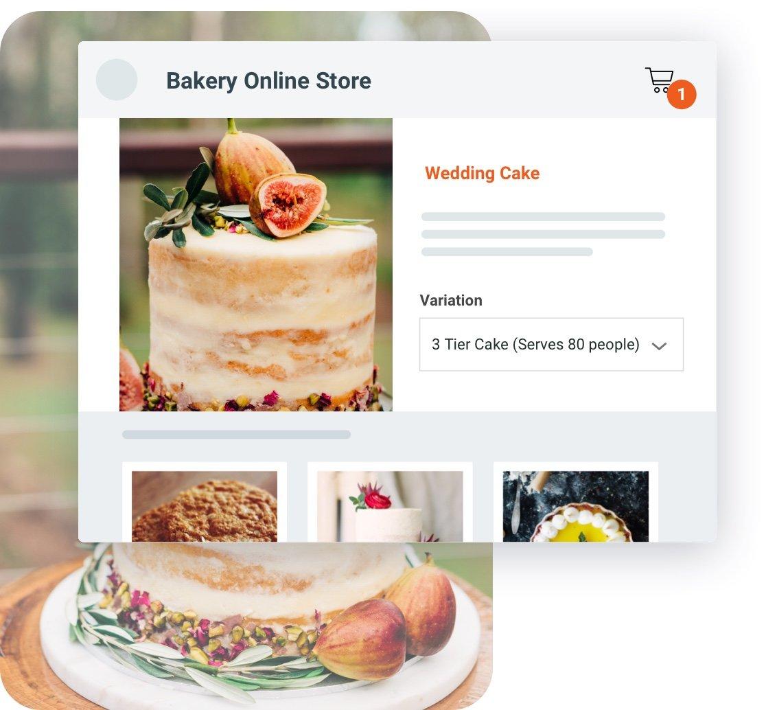 Bakery Order Management - bakery online store