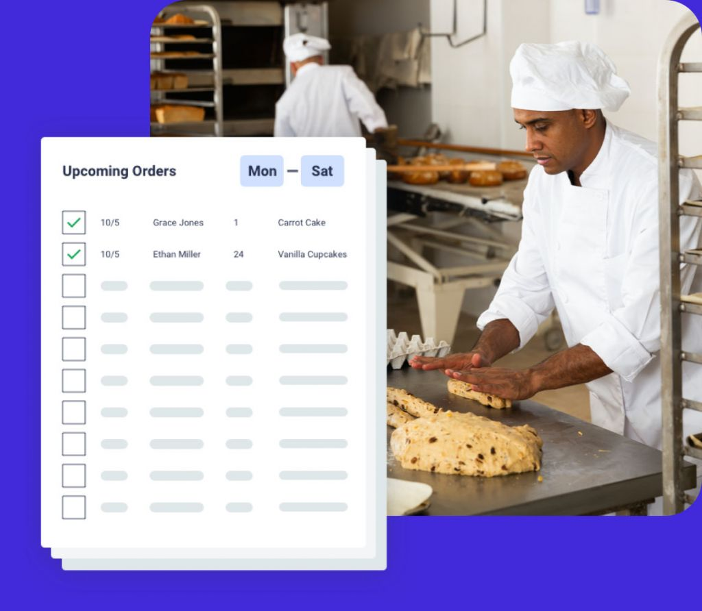 Bakery Production Planning - Reporting With OrderNova